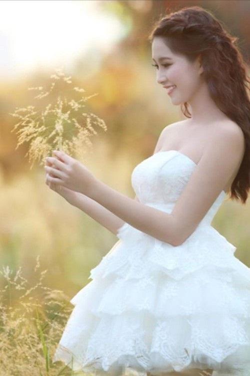 Hoa hậu Đặng Thu Thảo khác lạ với kiểu tóc mới 4