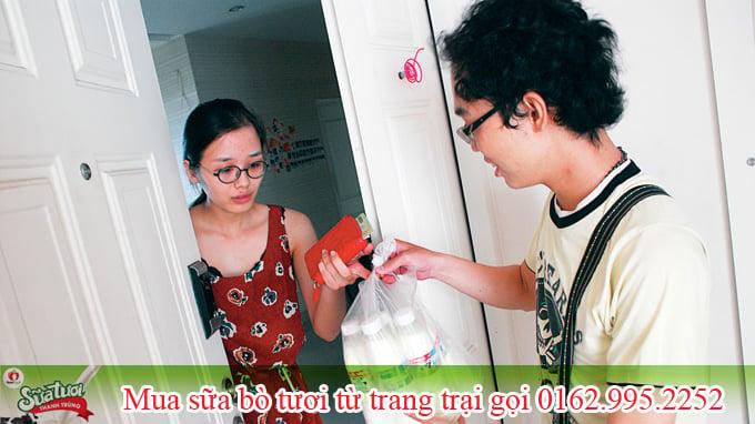 Hà Nội: Mua sữa bò tươi nguyên chất được giao tận nhà ở đâu? 2