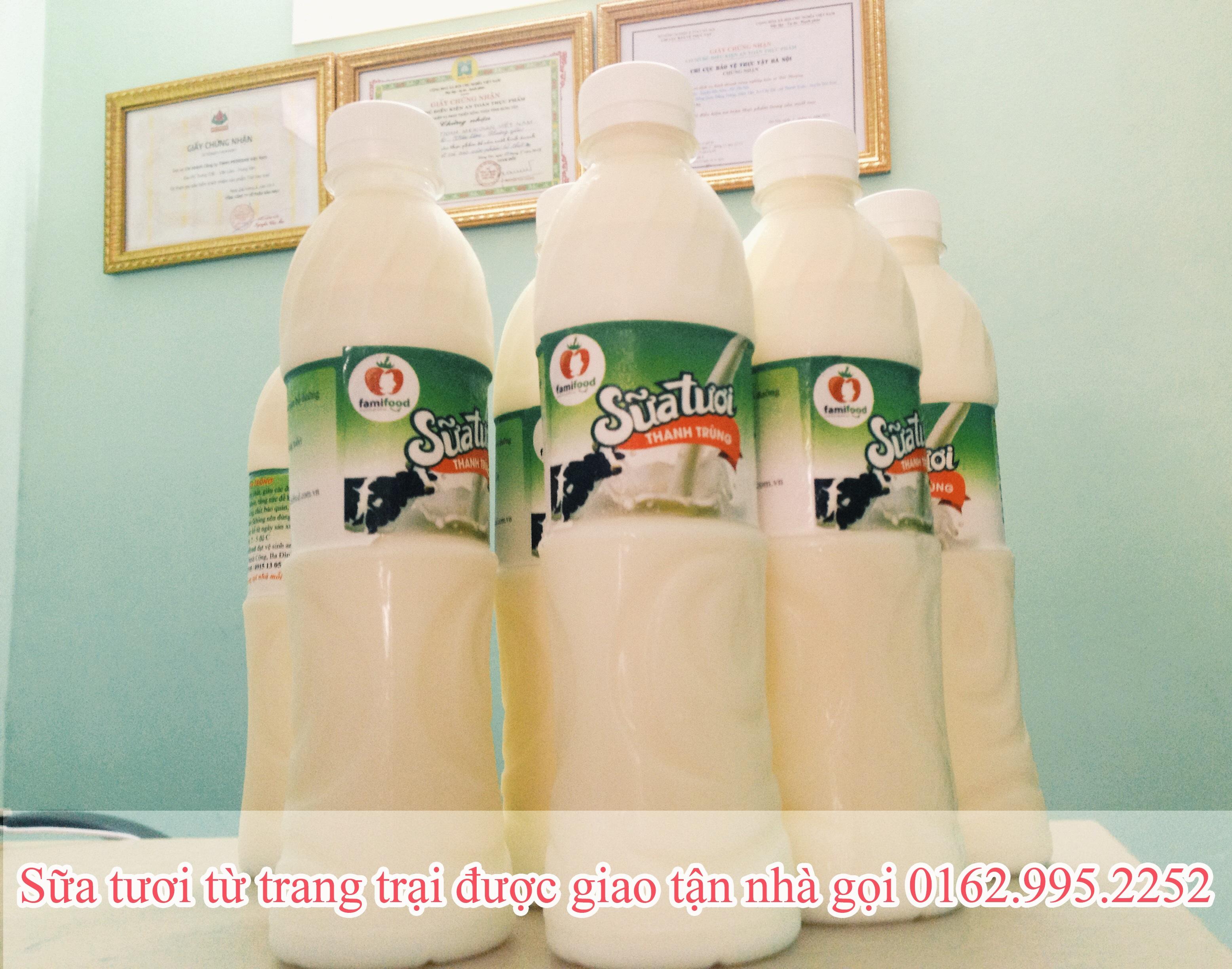 Hà Nội: Mua sữa bò tươi nguyên chất được giao tận nhà ở đâu? 1