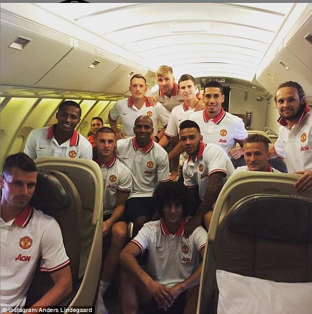 HLV Van Gaal mang đội hình hùng hậu của M.U sang Mỹ du đấu 1