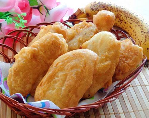 Cách làm bánh chuối chiên vàng giòn cực hấp dẫn 1