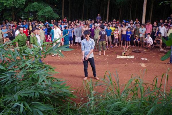 Một phụ nữ ở Bình Phước bị sát hại: Nghi can ra đầu thú 1