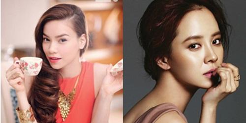 Ngắm nhan sắc của mỹ nhân Hàn được so sánh giống Hà Hồ 7