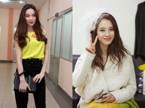 Ngắm nhan sắc của mỹ nhân Hàn được so sánh giống Hà Hồ 6