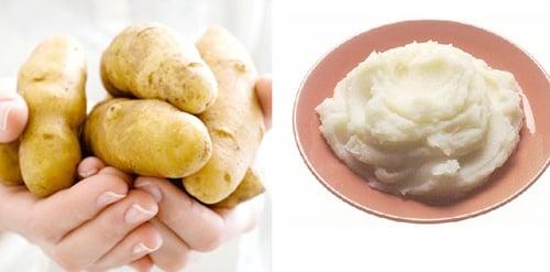 Khoai tây và công dụng làm đẹp da hiệu quả 2