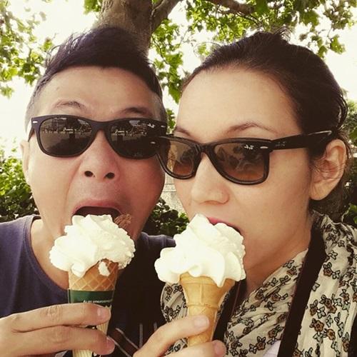 Kỳ nghỉ ngọt ngào của vợ chồng MC Anh Tuấn ở London 3