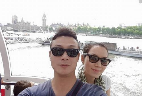 Kỳ nghỉ ngọt ngào của vợ chồng MC Anh Tuấn ở London 5