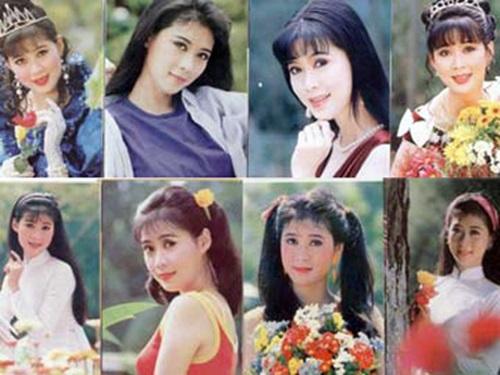 Hậu trường chụp ảnh lịch của Diễm Hương năm 1990 1