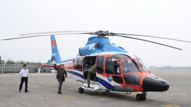 200 triệu đồng một chuyến trực thăng từ Hà Nội lên Sapa 2