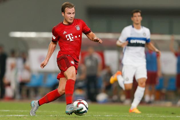 Mario Gotze sắm vai người hùng, Bayern thắng sát nút Inter 1