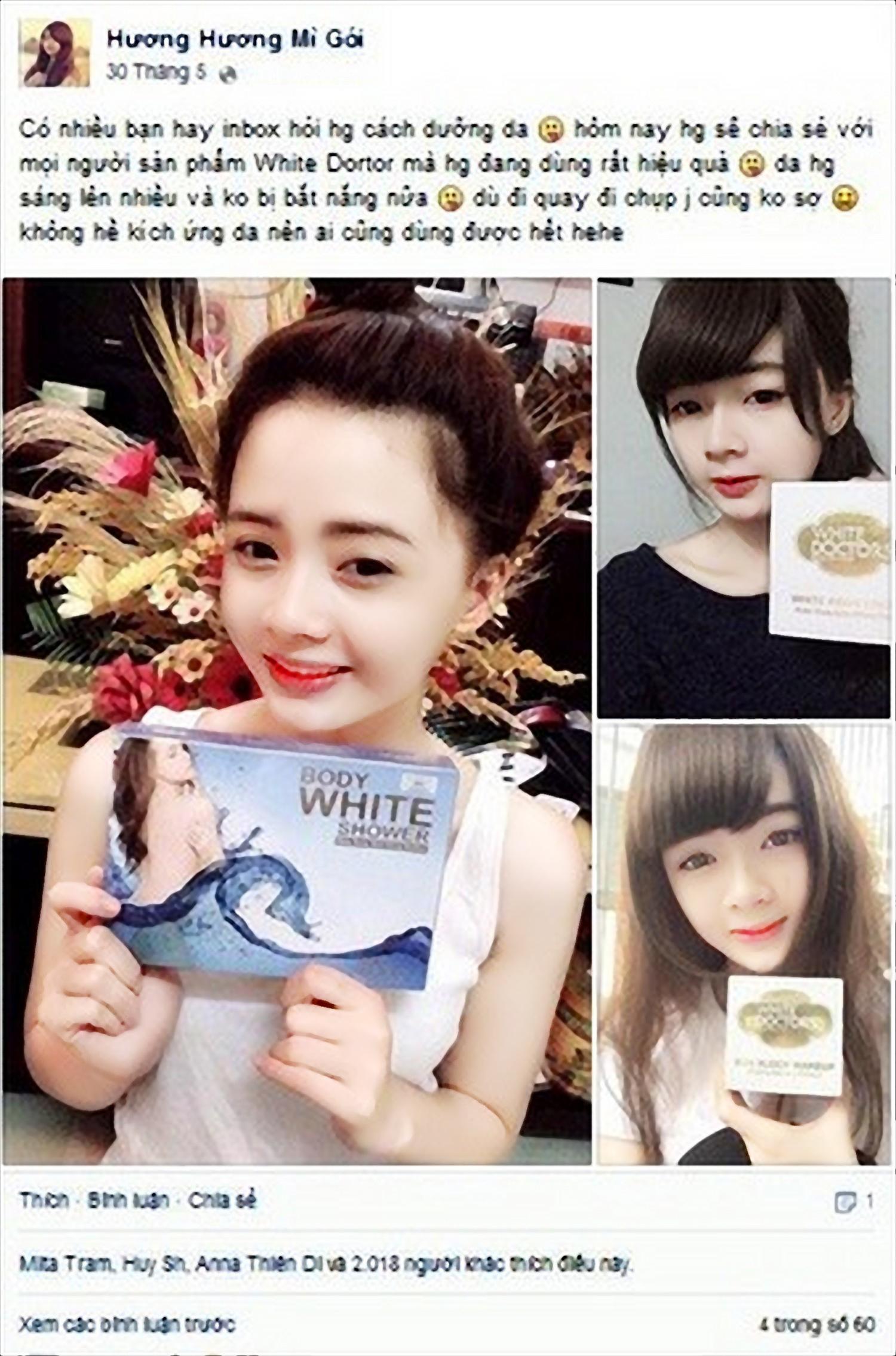 Hủy thu hồi 17 mỹ phẩm White Doctors công ty EBC Việt Nam 9