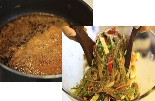 Cách làm miến trộn đặc trưng cực hấp dẫn của xứ sở Kim Chi 6