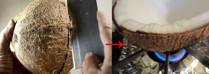 Cách làm nước cốt dừa thơm ngon nguyên chất thật đơn giản tại nhà 4
