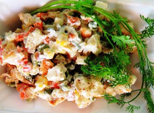 Cách làm salad Nga truyền thống cực kỳ đơn giản chỉ trong vài phút 5