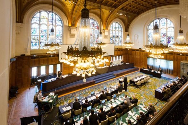 Hình ảnh Bên trong phiên tòa xét xử vụ kiện đường lưỡi bò của Philippines số 10