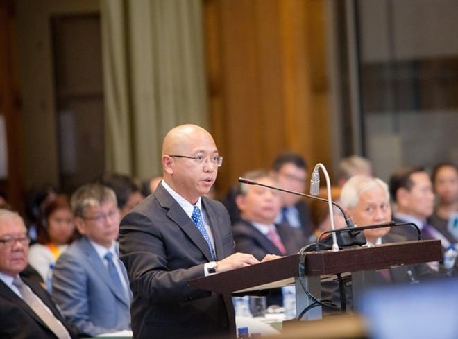 Hình ảnh Bên trong phiên tòa xét xử vụ kiện đường lưỡi bò của Philippines số 3