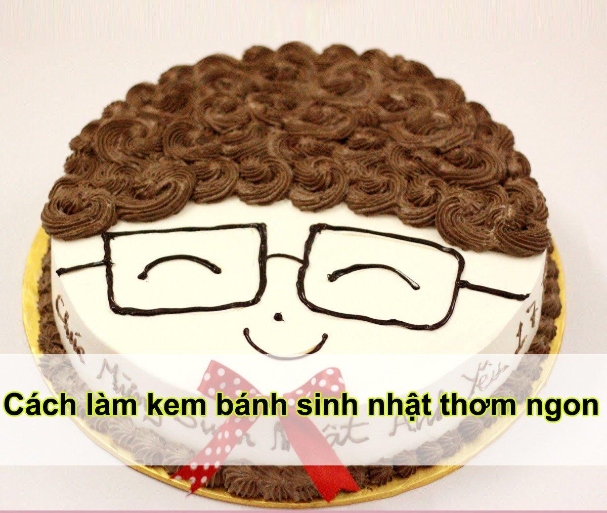 Hình ảnh Cách làm kem bánh sinh nhật đơn giản không cần máy tại nhà số 1