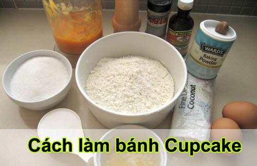 Cách làm bánh cupcake thơm ngon không cần lò nướng tại nhà 2