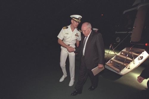 Những bức hình lần đầu công bố về Nhà Trắng sau vụ khủng bố 11/9 8