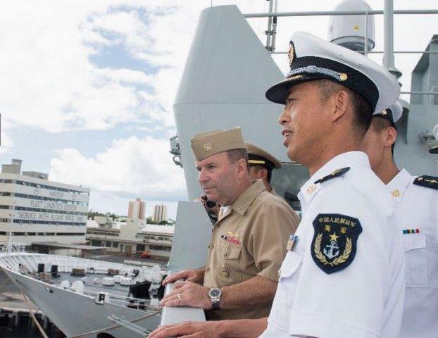 Mỹ - Trung duy trì hợp tác quân sự mặc bất đồng 1