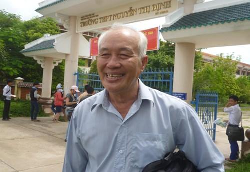 Thí sinh 70 tuổi đã đỗ tốt nghiệp THPT  1