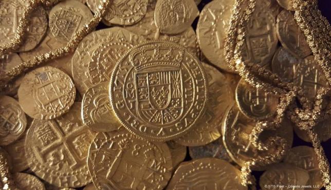Một gia đình Mỹ phát hiện kho vàng triệu đô trong xác tàu đắm 1