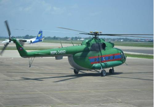 Trực thăng quân sự Lào chở 20 người mất tích 1