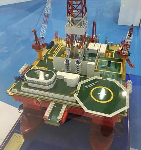 Trung Quốc đóng giàn khoan Haiyang Shiyou 982 để đưa tới Biển Đông 1