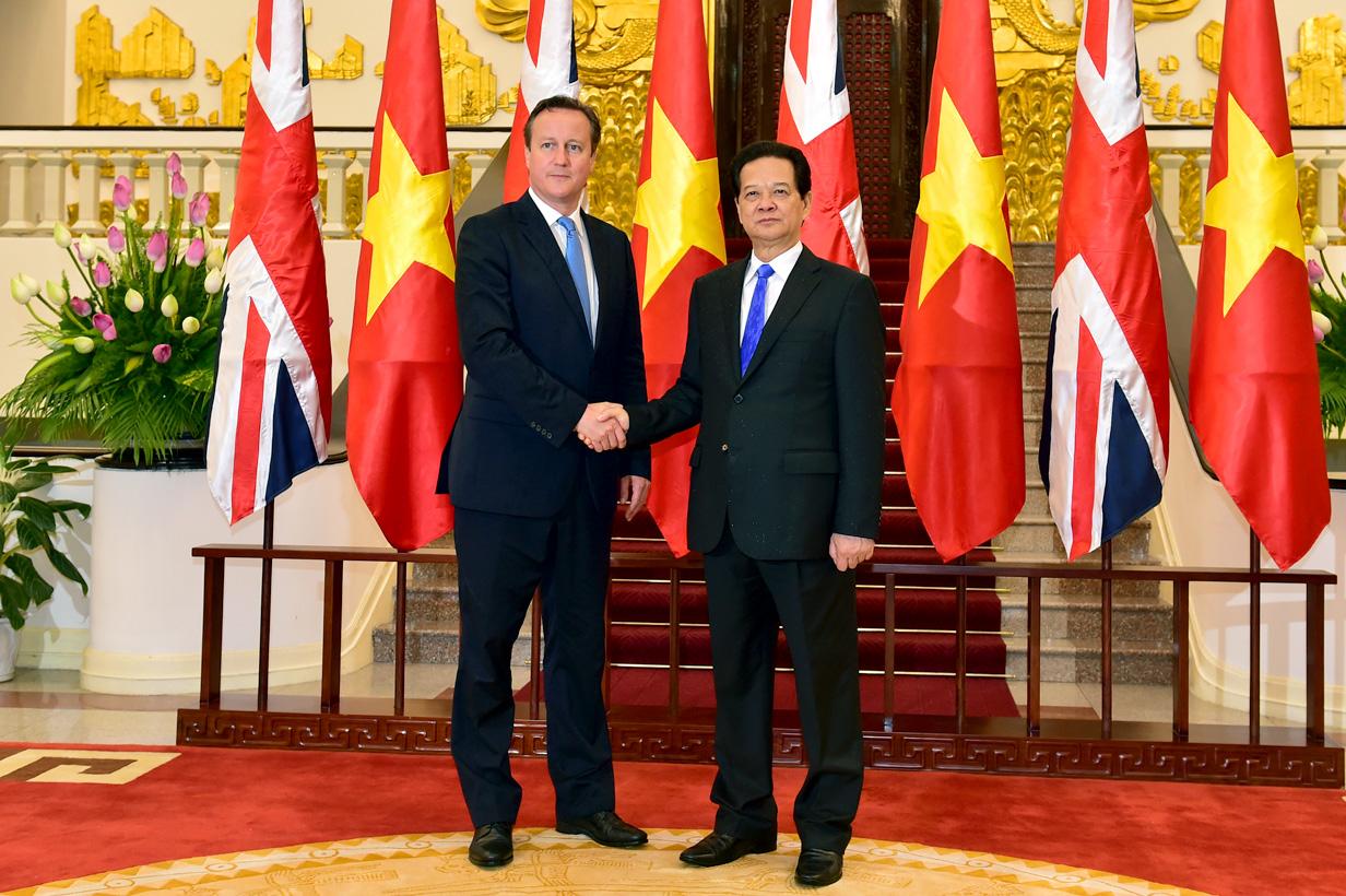 Toàn văn Tuyên bố chung Việt Nam - Vương quốc Anh 1