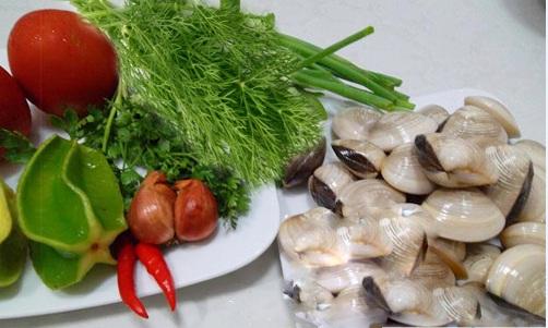 Cách nấu canh ngao chua thanh mát mùa hè 2