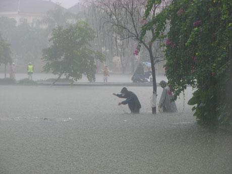 Miền Bắc có thể mưa cực lớn từ đêm mai 1