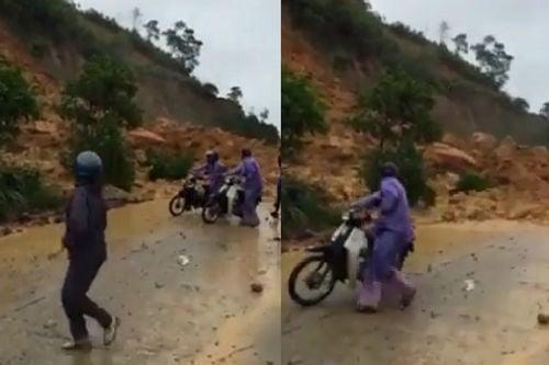 Video: Kinh hoàng cảnh tượng sạt lở tại Cẩm Phả 1