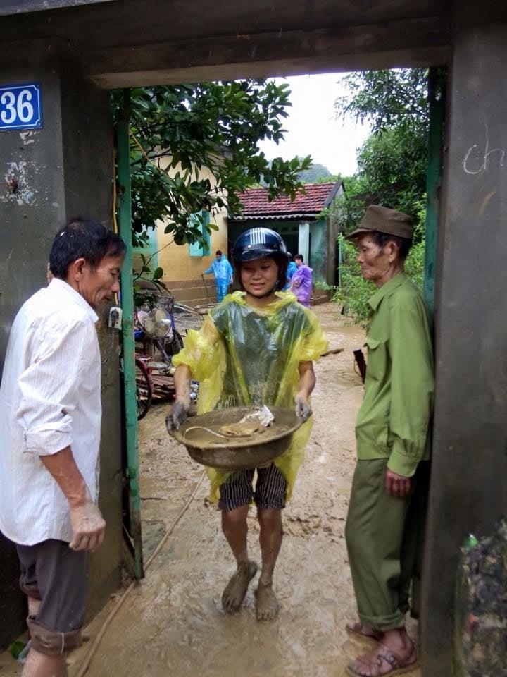 Hình ảnh thành phố Cẩm Phả sau trận mưa lũ dị thường 2