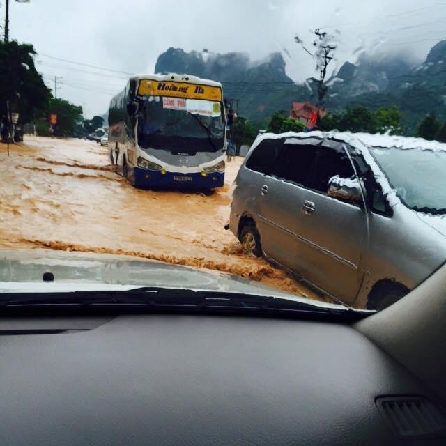 Hình ảnh thành phố Cẩm Phả sau trận mưa lũ dị thường 3
