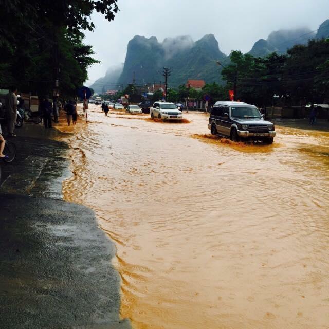 Hình ảnh thành phố Cẩm Phả sau trận mưa lũ dị thường 4