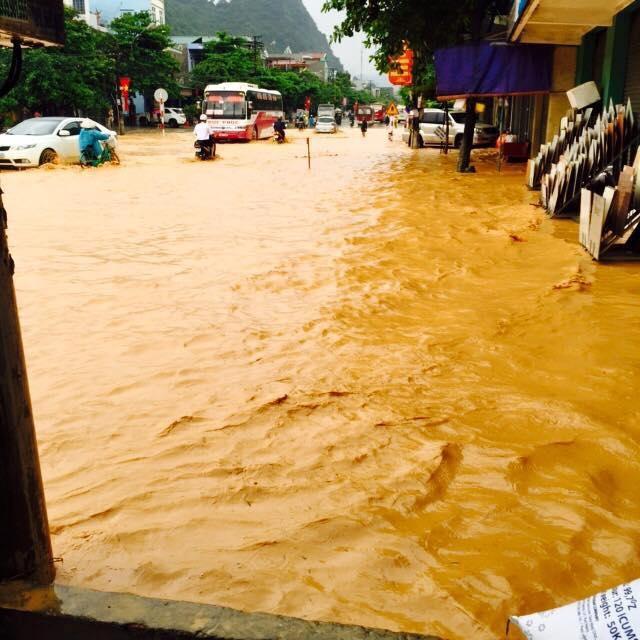 Hình ảnh thành phố Cẩm Phả sau trận mưa lũ dị thường 5