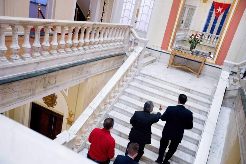 Bên trong đại sứ quán mới của Cuba tại Washington 2