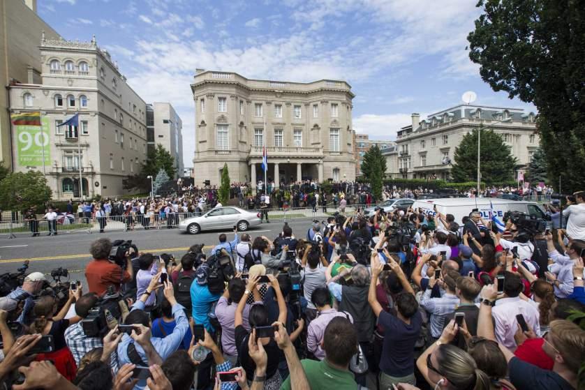 Bên trong đại sứ quán mới của Cuba tại Washington 1
