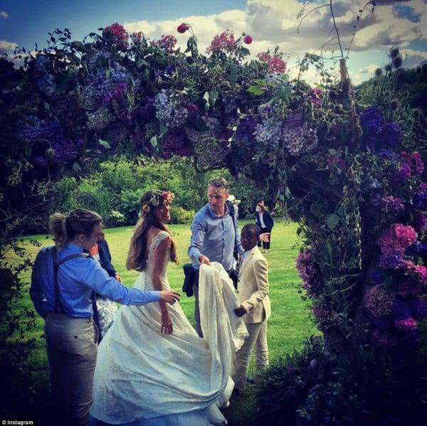 Dàn sao quy tụ tại đám cưới chồng cũ Madonna 1