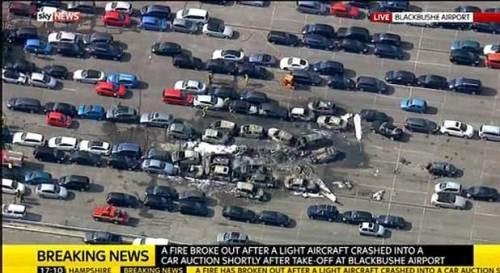 Rơi máy bay của gia đình trùm khủng bố Bin Laden, 4 người thiệt mạng 1