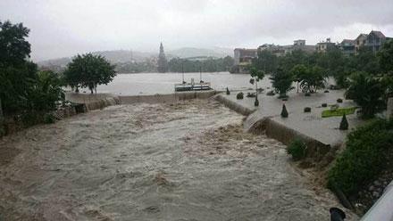 500 nhà dân tại Quảng Ninh bị lũ nhấn chìm 1