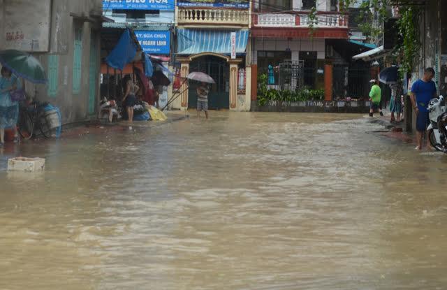 500 nhà dân tại Quảng Ninh bị lũ nhấn chìm 2