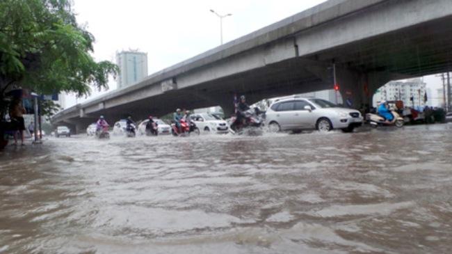 Những hình ảnh mưa lũ kinh hoàng tại miền Bắc 3