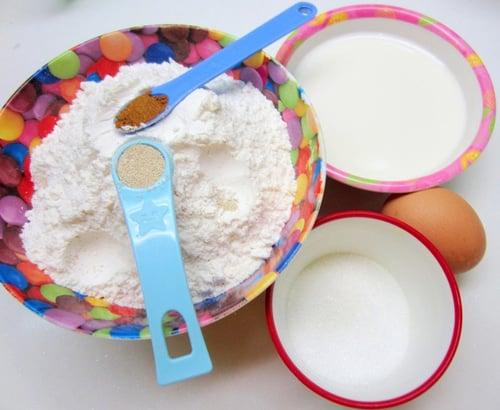 Bật mí cách làm bánh sữa chiên giòn