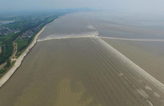 Hàng nghìn người đổ xô tới xem thủy triều cực hiếm trên sông Tiền Đường 2