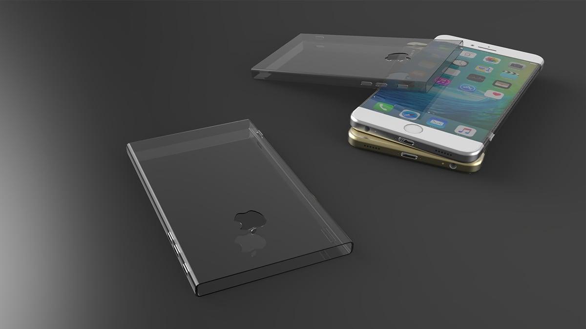 Hình ảnh Ngắm mẫu iPhone 7 hút mắt với viền cạnh siêu mỏng số 5