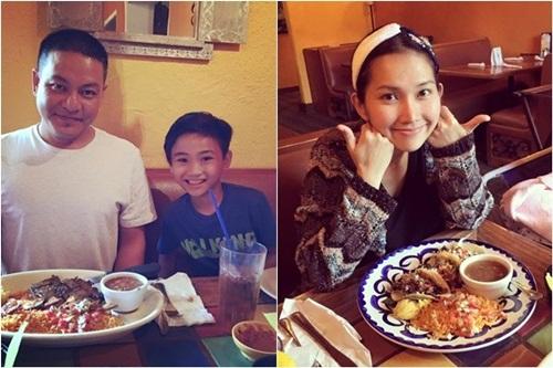 Facebook sao Việt: Bằng Kiều rạng rỡ cùng hai con trai 10