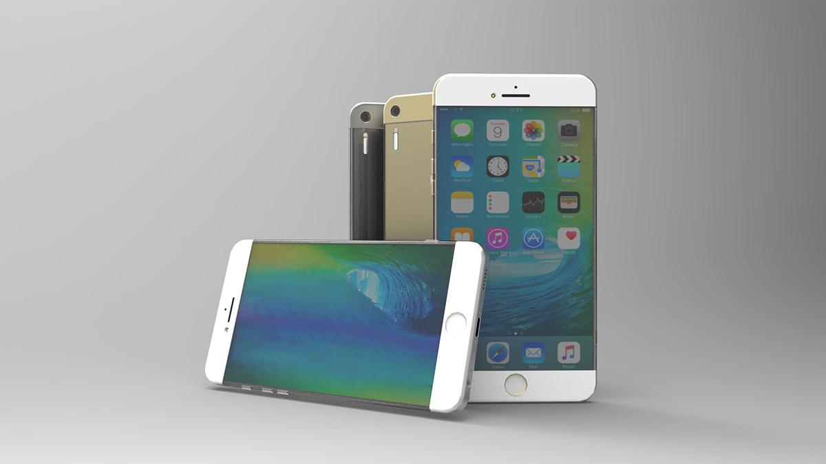 Hình ảnh Ngắm mẫu iPhone 7 hút mắt với viền cạnh siêu mỏng số 2