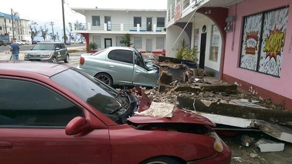 Video: Siêu bão mạnh nhất 2015 Soudelor tàn phá đảo Saipan 1