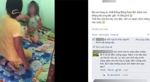 Clip bà mẹ đánh con 'hung ác nhất đồng bằng Nam bộ': Hành vi tung clip có vi phạm luật? 1